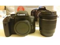 Canon 750D Camera with EF-S 18-55mm IS STM Lens with, box, carry case, lens cleaner and warranty