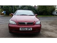 VAUXHALL ASTRA CONVERTIBLE, 12MONTHS MOT, SERVICE HISTORY CHEAP ON FUEL TAX, CD ALLOY, £595 ONO