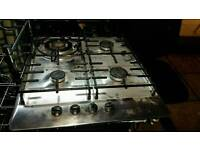 NEFF BUILT IN OVEN WITH GAS HOB AND HOOD