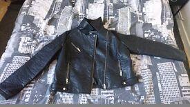 Womens Faux leather jacket UK size 18/20