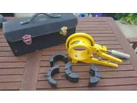 Pipe cutter for soil