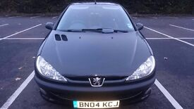 PEUGEOT 206 1.1 FEVER ONLY 46K MILES ONE LADY OWNER FROM NEW