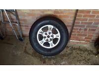 Mitsubishi shogun wheels and tyres