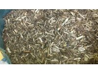 woodchip willow chip mulch hardwood chip play grade free local delivery