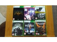 6 Xbox 360/One Games - Backwards Compatible