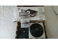 ps3 dj hero 2 with game