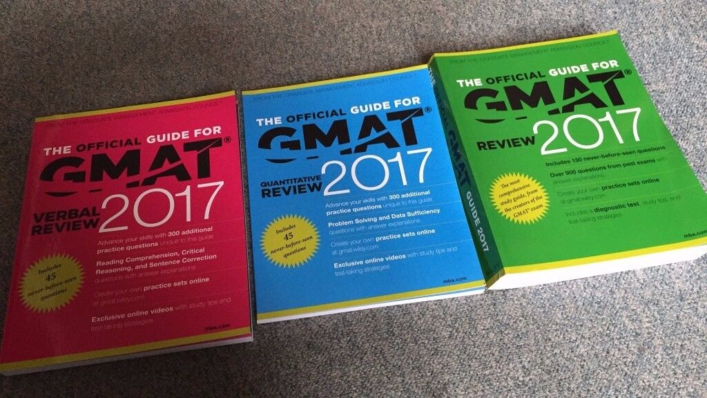 Free and Brand New Official Guide for GMAT 2017