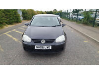 2006 Volkswagen Golf 1.6 black 5dr hatchback AUTO Petrol MOT until Feb2019 full service history