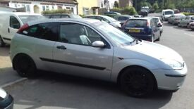 Ford focus 1.6 manual petrol