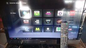 Internet tv (built in wi-fi)