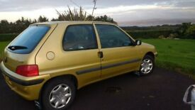 2003 Peugeot 106 .. 1.1 petrol .. LOW MILES .. AUG 18 MOT