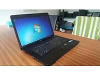 FAST HP COMPAQ 610 HD WIDE SCREEN LAPTOP WEBCAM DVD WIFI WINDOWS 7 GUARANTEE CAN DELIVER