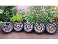 5 No. Alloy Wheels and Tyres