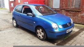 BREAKING vw polo 9n 1.2 genuine 64k most parts still available