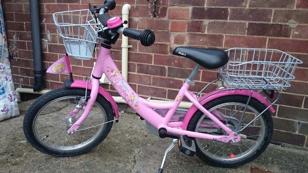 Girls Puky ZL 16 ALU Princess Lillifee - Excellent Condition
