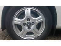 4x Italian StilAuto Alloy wheels & tyres Peugeot 107 Citroen C1 Toyota Aygo Yaris 175/65R14