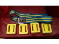 Lumb Bros Diving Belt and 2x 1Kg Weights and 2x 2kg Weights