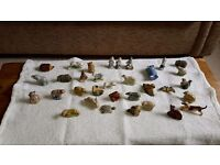 Collectable Wade Whimsie 'Pocket Friends' Figurines