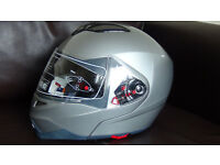 motorbike full face flip up helmet /brand new