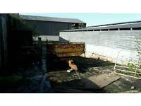 Tractor tipping trailer 10 x 5 £250