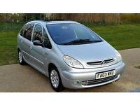 Citroen Xsara Picasso 2.0 HDi Exclusive panoramic roof++HPI CLEAR+GOOD CONDITION++