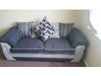 3 seat sofa 2 months old brand new condition