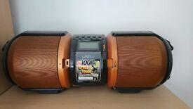 Sharp boombox speaker