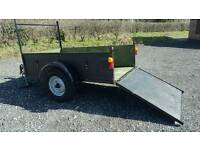 6 X 4 TRAILER WITH RAMP