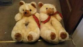 Teddy slippers