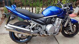 SUZUKI GSF650 BANDIT 57 REG