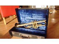 B&M Champion Trumpet & Case with Marcinkiewicz Mouthpiece
