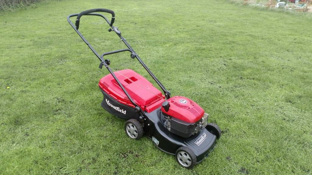 Mountfield Hp474 Hand Propelled Petrol Lawn Mower In Good Working