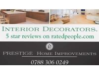PAINTER AND DECORATOR -- VERY COMPETITIVE RATES.