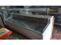 2.5M SERVE OVER DISPLAY COUNTER CHILLER MEAT DAIRY FISH FRIDGE