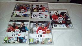 colletcion of FIFA