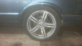 19inch jaguar alloy wheels.