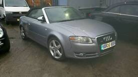 Audi A4 cabriolet 2.0T S line*Fully loaded*