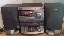 Large Sony Stereo