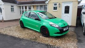 Renault Clio RS200 , very rare alien green