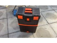 Toolbox Mobile Mastercart Tool Box with Handle Wheels
