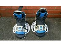 Bbreien bindings for wather ski or snowboard in good condition can deliver or post!
