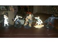 Disney infinity Star Wars figures