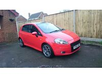 Fiat grande punto 1.4 T-Jet Sporting, turbo, rare, 120bhp - KEY SCRATCH PROFESSIONALLY REPAIRED