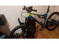 Boardman Pro Full Suspension Mountain bike