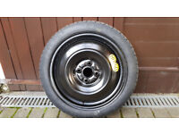 Toyota Yaris Space Saver tyre (new)