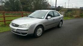 2003 FORD MONDEO LX 1.8 *ONE YEAR MOT*