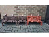 Bill and Ben garden bench
