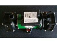 Shower pump - Salamander Right RSP75 twin shower pump
