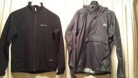 Mens medium Sprayway Soft shell jacket and Lowe Alpine triplepoint overhead jacket.