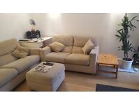 John Lewis Sofas + Foot Stall, Side Tables, TV Stand